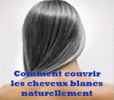 Les Coloration Naturelles Comment Faire Pour Couvrir Les Cheveux