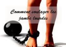 Comment soulager les jambe lourdes