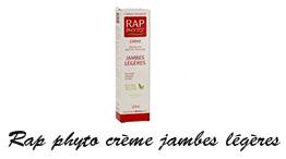 Rap phyto crème jambes légères