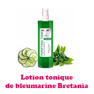 Lotion tonique de bleumarine Bretania