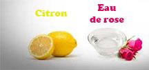 diy eau de rose et ctron