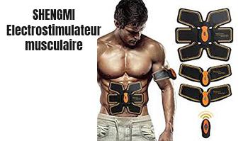 SHENGMI Electrostimulateur musculaire ceinture