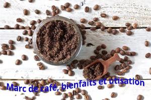 Marc de café, bienfaits et utisation