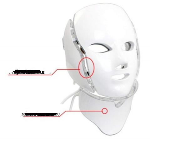 masque avec extension pour le cou
