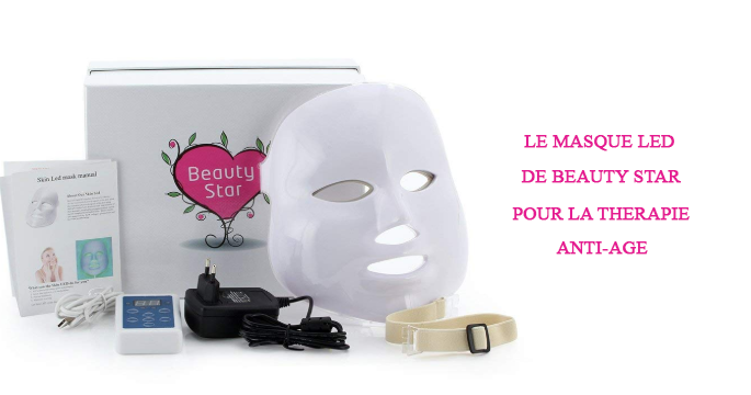 le masque led de beauty star