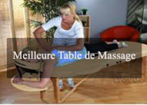 meilleure table de massage