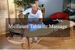 meilleure table de massage