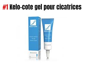 Kelo cote gel pour cicatrices visage