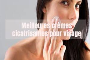 Meilleures crèmes cicatrisantes pour visage