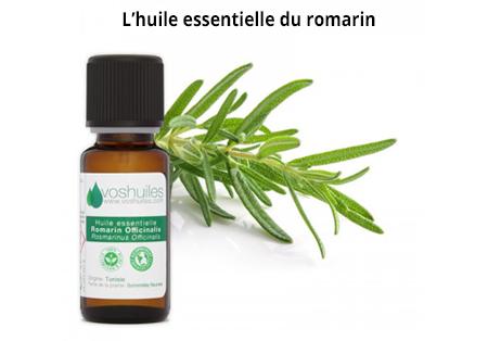 l'huile essentielle du romarin pour la pousse des cheveux