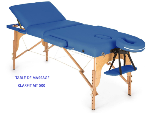 table de massage Klarfit MT 500