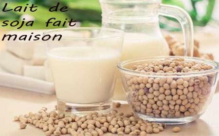 Faire du lait de soja à la maison