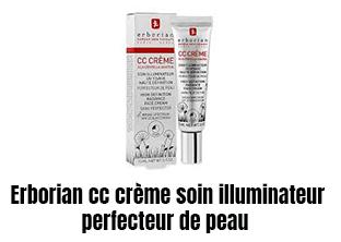 Erborian cc crème soin illuminateur et perfecteur de peau