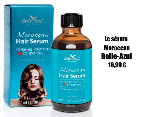 meilleur sérum cheveux sans silicone : belle azul