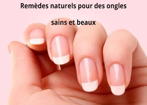 Comment avoir de beaux ongles naturels