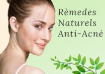 Astuces naturelles anti-acné